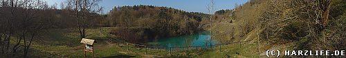 Blauer See - Ansicht von Nordosten