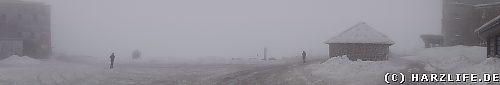 Der Brocken im Nebel